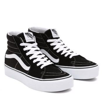 Scarpe Donna VANS Sneakers Alte Sk8-Hi Platform 2.0 colore Nero e Bianco