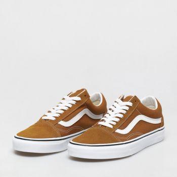 Scarpe Uomo VANS Sneakers Old Skool colore Golden Brown