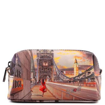 Beauty Piccolo con Zip Y NOT YES-301 London Tower Bridge