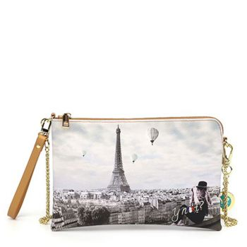 Borsa Donna Y NOT Pochette con Tracolla YES-303 Ciel De Paris