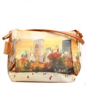 Borsa Donna Y NOT a Spalla con Tracolla Media YES-321 New York Central Park