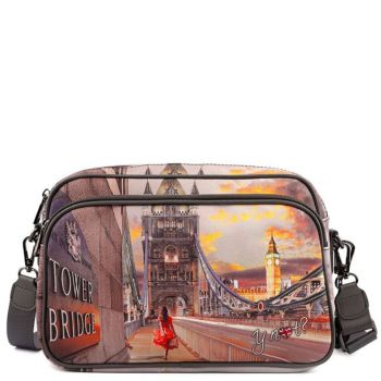 Borsa Donna a Tracolla Y NOT  London Tower Bridge Yes-331