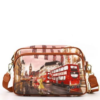 Borsa Donna a Tracolla Y NOT  London Yellow Tranch Yes-331