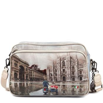 Borsa Donna a Tracolla Y NOT  Milano Race Yes-331