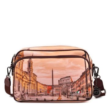 Borsa Donna a Tracolla Y NOT Morning Rome Yes-331