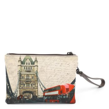 Pochette Donna con Zip Y NOT YES-342 London Bridge