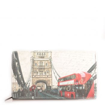Portafoglio Donna con Bottone Y NOT YES-364 London Bridge