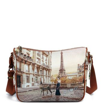 Borsa Donna Y NOT a Tracolla Regolabile linea YES-370 Sauvage