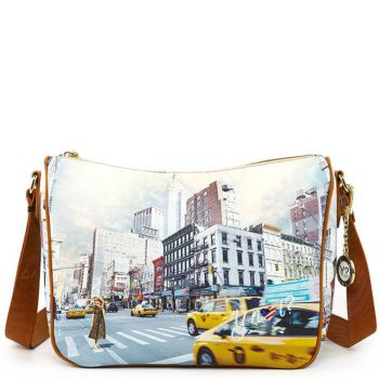 Borsa Donna Y NOT a Tracolla Regolabile linea YES-370 NY Tower