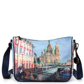 Borsa Donna Y NOT a Tracolla Regolabile linea YES-370 Saint Petersburg
