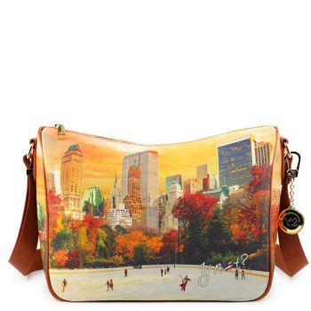 Borsa Donna Y NOT a Tracolla Regolabile linea YES-370 New York Central Park