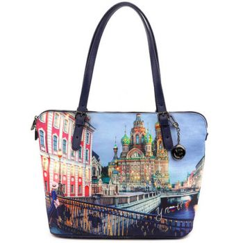 Borsa Donna Grande a Spalla Y NOT YES-377 Saint Petersburg