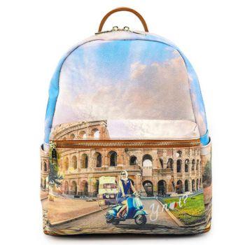 Zaino Donna Medio Y NOT con Tasca Esterna Linea YES YES-381 Rome Vita