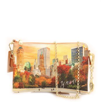 Borsa Donna Y NOT Pochette con Tracolla YES-384 New York Central Park