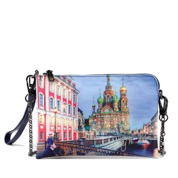 Borsa Donna Y NOT Pochette con Tracolla YES-384 Saint Petersburg