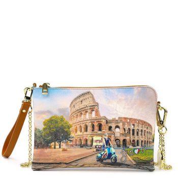 Borsa Donna Y NOT Pochette con Tracolla YES-384 Rome Vita