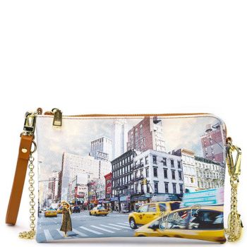 Borsa Donna Y NOT Pochette con Tracolla YES-384 Ny Tower