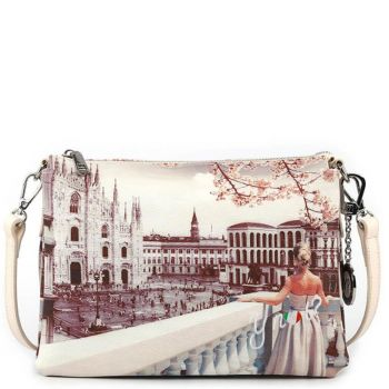 Borsa Donna a Tracolla Y NOT YES-399 Milan View