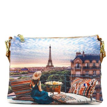 Borsa Donna a Tracolla Y NOT YES-399 Paris View