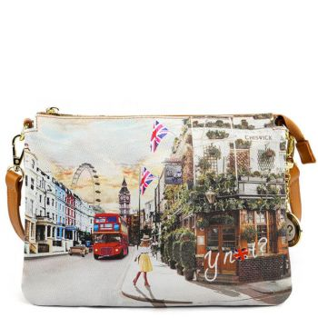 Borsa Donna a Tracolla Y NOT YES-399 London Pub