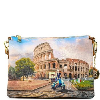 Borsa Donna a Tracolla Y NOT YES-399 Rome Vita
