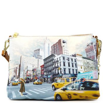 Borsa Donna a Tracolla Y NOT YES-399 NY Tower