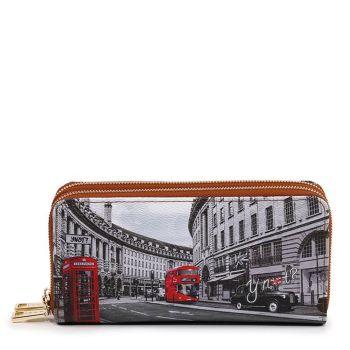 Portafoglio Donna con Doppia Zip Y NOT YES-568 London Regent Street