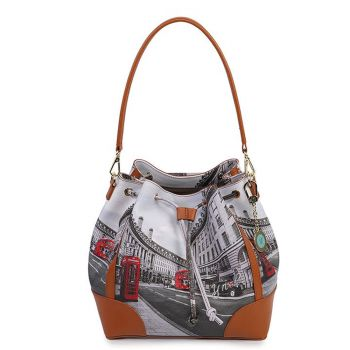 Borsa Donna Y NOT a Secchiello con Tracolla YES-576 London Regent Street