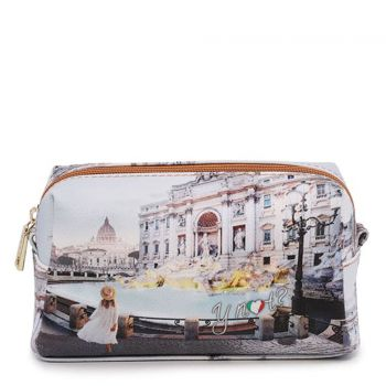 Beauty Grande con Zip Y NOT stampa Roma Trevi YES-304