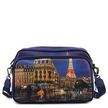 Borsa Donna a Tracolla Y NOT Midnight in Paris Yes-331