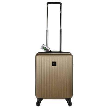 Trolley Cabina 55cm 4 Ruote Leggero 2,6kg - Y Not? colore Gold con USB