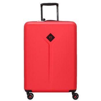 Trolley Cabina 55cm 4 Ruote Leggero 2,8 kg - Y Not? colore Rosso con USB