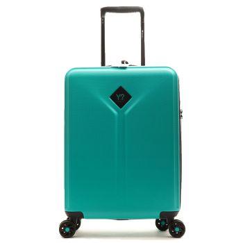 Trolley Cabina 55cm 4 Ruote Leggero 2,8 kg - Y Not? colore Emerald Green con USB
