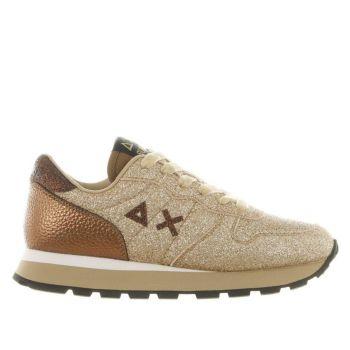Scarpe Donna Sun68 Sneakers Ally Solid Glitter Oro