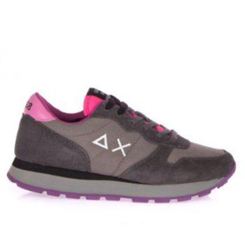Scarpe Donna Sun68 Sneakers Ally Solid Grigio Scuro