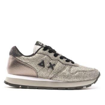 Scarpe Donna Sun68 Sneakers Ally Solid Glitter Argento