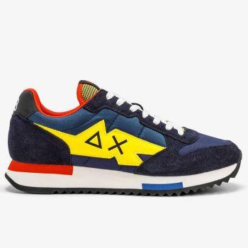 Scarpe Uomo Sun68 Sneakers Niki Crazy Boy colore Navy Blue