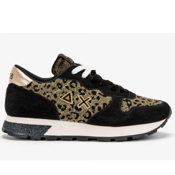 Scarpe Donna Sun68 Sneakers Ally Animal Soul Oro