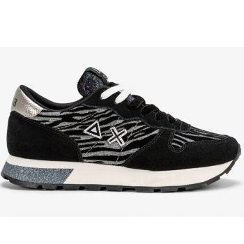 Scarpe Donna Sun68 Sneakers Ally Animal Soul Argento