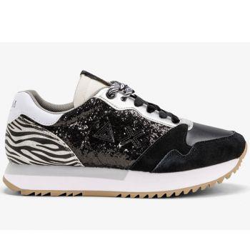 Scarpe Donna Sun68 Sneakers Kelly Glitter Body Nero