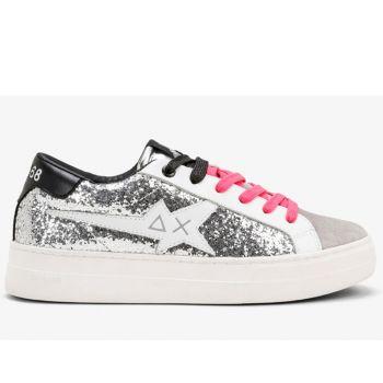 Scarpe Donna Sun68 Sneakers Betty Colore Argento