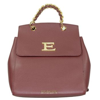 Zaino Donna ERMANNO SCERVINO Linea Eba Winter Plain colore Bordeaux