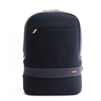 """Zaino Unico Scomparto con Porta Pc 15,6"""" e Tasca RFID - NAVA Linea Easy Break Colore Blue - Orange"""