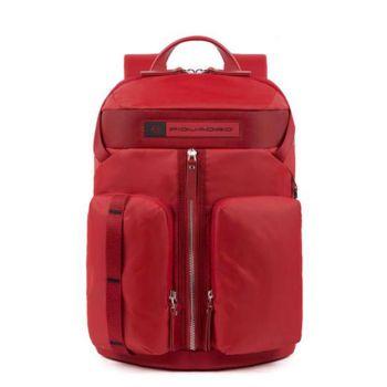Zaino Piquadro in Nylon Rosso Porta Tablet - CA5038BIO Linea PQ - Bios