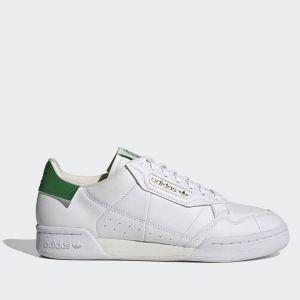 Scarpe Uomo ADIDAS Sneakers linea Continental 80 colore Bianco e Verde