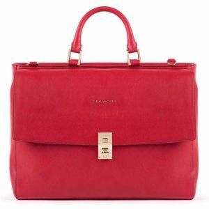 """Cartella PIQUADRO Borsa Porta Pc 15,6"""" e iPad - CA5279DF Linea Dafne Colore Rosso"""
