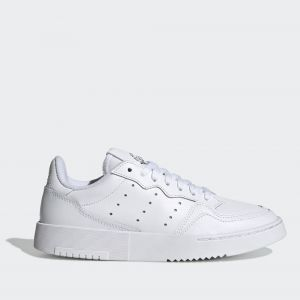 Scarpe Donna ADIDAS Sneakers linea Supercourt in Pelle Bianco