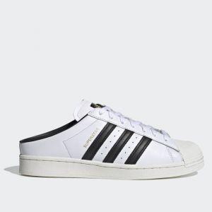 Scarpe Donna ADIDAS Sneakers Slip On linea Superstar Mule colore Bianco e Nero