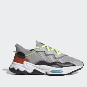 Scarpe Uomo ADIDAS Sneakers linea Ozweego colore Grigio Nero e Blu