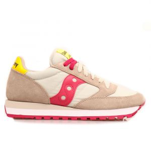 Scarpe Donna Saucony Sneakers Jazz Khaki -Red